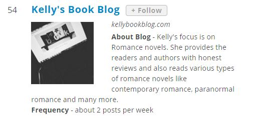 top romance blogs